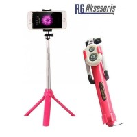 Tongsis Tripod + Remote Bluetooth / Tongsis 3in1 Blutut