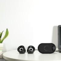 Harga elegans robot speaker portable rs170 for pc laptop smartphone | Pembandingharga.com