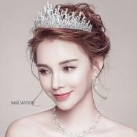 Mahkota Rambut Bridal - Aksesoris Pengantin Wedding Crown - MRW 007