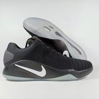 Sepatu Basket HYPERDUNK 2016 LOW FN BLACK Replika Impor - Hitam, 43