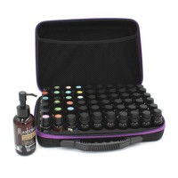60 Compartments Essential Oil Storage Bag Portable Travel Essential