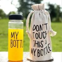 My Bottle Pouch BPA FREE Plastik Botol Bening