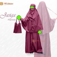 JasiGa Jas Hujan Syar'i Gamis plus cadar untuk akhwat Size M XL & XXL