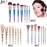 JBS New York makeup brush 7 pcs make-up tools diamond K 013 - K 015