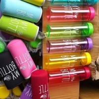 FREE POUCH - MY BOTTLE / INFUSED WATER / BOTOL MINUM BENING WARNA