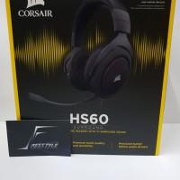 Corsair HS 60 Carbon Surround Gaming Headset Garansi Resmi DTG 2 Tahun