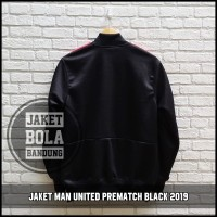 7fb225859 Original produk JAKET MANCHESTER UNITED PREMATCH BLACK 2019 - FOTO