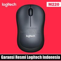 [Garansi Resmi] Logitech M220 Silent Wireless Mouse