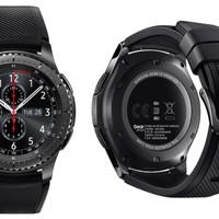 Murah Samsung Smartwatch Gear S3 Frontier SM-R760NDAAXAR - Black