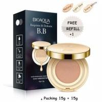 bioaqua bb gold liquid cushion exquisite & delicated   refill