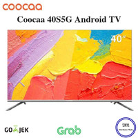 COOCAA LED 40 inch Smart TV 40S5G Android TV - Garansi Resmi
