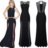 Dress Black Jaring