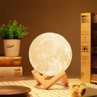 Moon Lamp / Lampu Bulan 15CM 16 warna RGB + Remote