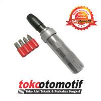 Obeng Ketok RRT VESSEL 2500 CR-V / Impact Driver Set 5 Pcs