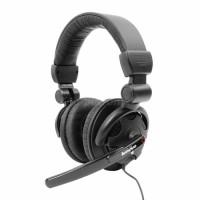 Headphone Gaming Lenovo P950 Headset PC Komputer Earphone Cuci Gudang