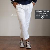 SAMASE SIRWAL OFFICE WHITE D006623 TWILL STRECH