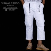 SAMASE SIRWAL CARGO WHITE 6095-04 TWILL STRECH SWDNG
