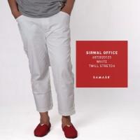 SAMASE SIRWAL OFFICE WHITE 6072020123 TWILL STRECH