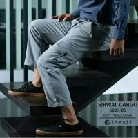 SAMASE SIRWAL CARGO GREY 6095-05 TWILL DENIM