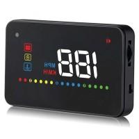 Digital Car LED Head Up Display HUD OBD2 Interface - A200 baru