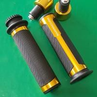 Handfat Barracuda Karet Handle Grip + Bandul Jalu Stang Motor CnC