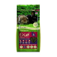 Burgess Excel Rabbit Food With Cranberry Ginseng Makanan Kelinci 2kg
