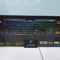 Corsair K70 RGB MK2 Mx Red Mechanical Keyboard Garansi Resmi DTG 2Thn
