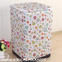 Cover Mesin Cuci Bahan tebal anti air anti panas motif lucu - HPR086