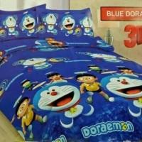 BEDCOVER SET BONITA BLUE DORAEMON No.1 KING 180 BCS DOREMON BED COVER