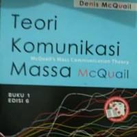 Harga teori komunikasi massa edisi 6 buku 1 denis | antitipu.com