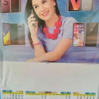 kalender caturwulan/3 lembar 2019 artis hp