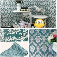 Harga wallpaper sticker dinding ukuran 45cm x 10mtr batik | antitipu.com