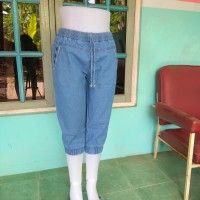 Jogger jeans pendek / celana joger pendek / celana jeans pants / 7/8 -