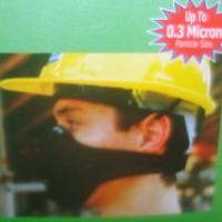 masker / maskr / masker anti polusi / masker motor / microfibre black
