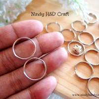 Ring Besi 2cm - Ring Juntai - Ring O Keychain - Ring Bulat