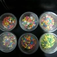Conveti / Sprinkle / Spikle / Gula hias taburan kue bisa di makan 20gr