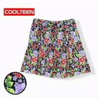 rok printing -COOL TEEN - printing bunga karet belakang