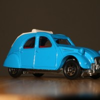 MINT - Tomica - No. F39 - Citroen 2CV - Made in Japan - Loose