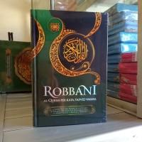 Alquran Robbani A5, Al-Quran Tajwid Terjemah Per Kata Robani uk sedang