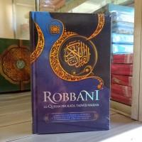 Alquran Robbani Besar A4, Al-Quran Tajwid Terjemah Per Kata Robani