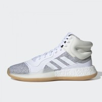 4ba9eb4eb8d91 Sepatu Basket Adidas Marquee Boost White Original BB9299
