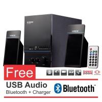 Harga speaker aktif multimedia 2 1 channel supreme 638 laptop | Pembandingharga.com