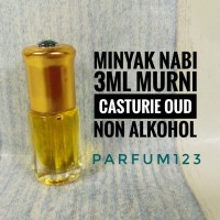 Minyak Murni kasturi oud-Minyak Nabi 3ml