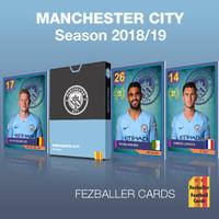 Fezballer Cards MANCHESTER CITY the Citizen season 2018/2019