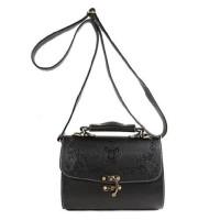 New tas selempang fashion wanita sling bag cewek korea embos bunga