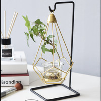 Geometric Hanging Candle Candlestick Christmas Home Wedding Decor