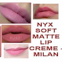 nyx soft matte lip cream milan original