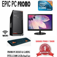 Harga komputer satu set intel i5 ram 8gb nvidia 2gb led lg 20 inch   Pembandingharga.com
