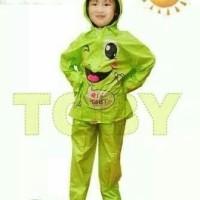 Jas Hujan Anak Kido Laki-laki Cowok Raincoat (Temannya Star Plevia)