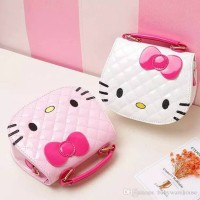 Tas Bahu Selempang Hello Kitty Anak Fashion Import Best Seller!